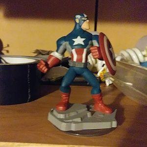 captain America Disney pixar 2.0